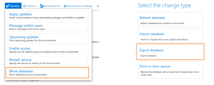 maintain a Dyn365FO environment in LCS